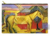 Long Yellow Horse 1913 Carry-all Pouch