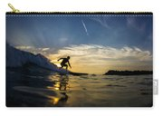 Longboarding Into The Sunset Carry-all Pouch