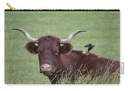 Longhorn And Friend Carry-all Pouch