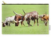 Longhorn Cattle Carry-all Pouch