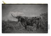 Longhorn Of Bandera Carry-all Pouch