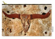 Longhorn On The Rock Carry-all Pouch