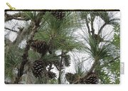 Longleaf Pine Cones Carry-all Pouch