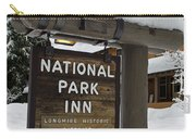 Longmire National Park Inn Carry-all Pouch