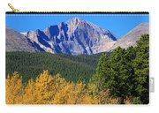 Longs Peak Autumn Aspen Landscape View Carry-all Pouch