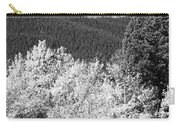 Longs Peak Autumn Scenic Bw View Carry-all Pouch