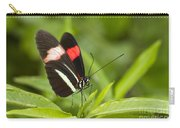 Longwing On A Leaf Carry-all Pouch