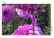 Look At Me Dahlia Flower Carry-all Pouch