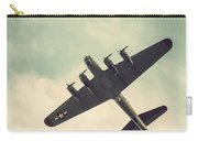 Look Up Vintage B-17 Flying Fortress Carry-all Pouch