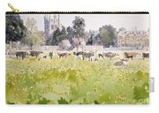 Looking Across Christ Church Meadows Carry-all Pouch