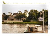 Looking At The Boardwalk Gazebo Walt Disney World Carry-all Pouch