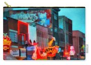 Looking Down Broadway In Nashville Tennessee Carry-all Pouch