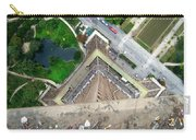 Looking Down From The Eiffel Tower Carry-all Pouch