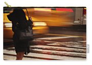 Looking For A Taxi - Rush Hour New York Carry-all Pouch