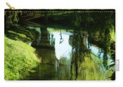 Looking Green And Serene Carry-all Pouch