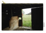 Looking Out Old Barn Carry-all Pouch