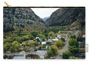 Looking Over Ouray From The Sutton Mine Trail Circa 1955 Carry-all Pouch