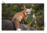 Looking Pretty Foxy Carry-all Pouch