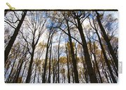 Looking Skyward Into Autumn Trees Carry-all Pouch