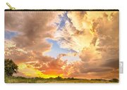 Looking Through The Colorful Sunset To Blue Carry-all Pouch