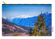 Looking To Mazama From Sun Mountain Carry-all Pouch