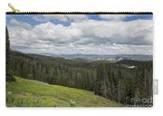 Looking To The Canyon - Yellowstone Carry-all Pouch