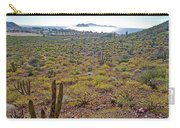 Looking Toward Bahia Kino Over Sonoran Desert-sonora-mexico Carry-all Pouch