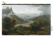 Looking Towards The Val Daosta, Bernese Carry-all Pouch