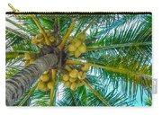 Looking Up A Coconut Tree Carry-all Pouch