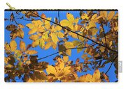 Looking Up To Yellow Leaves Carry-all Pouch