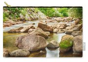 Looking Upstream The Colorado St Vrain River Carry-all Pouch