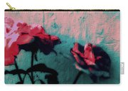 Looks Like Painted Roses Abstract Carry-all Pouch