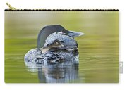 Loon Chick- Feather Hat Carry-all Pouch