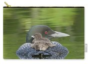 Loon Chicks -  Nap Time Carry-all Pouch