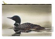 Loon In Still Waters Carry-all Pouch