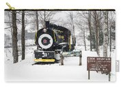 Loon Mountain Train Carry-all Pouch