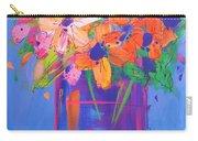 Loosey Goosey Flowers Carry-all Pouch
