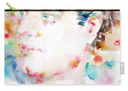 Lord Byron - Watercolor Portrait Carry-all Pouch