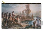 Lord Howe Organizes The British Evacuation Of Boston In March 1776 Carry-all Pouch by English School