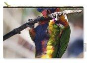 Lorikeet Bird Carry-all Pouch