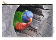 Lorikeet - Peek-a-boo Carry-all Pouch