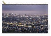 Los Angeles At Night From The Griffith Park Observatory Carry-all Pouch
