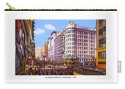 Los Angeles California - Seventh Street - 1938 Carry-all Pouch