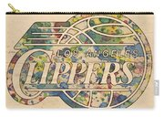 Los Angeles Clippers Poster Art Carry-all Pouch