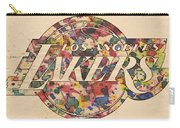 Los Angeles Lakers Poster Art Carry-all Pouch