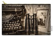 Lost Love In Black And White Carry-all Pouch