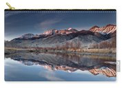 Lost River Mountains Winter Reflection Carry-all Pouch