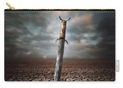 Lost Sword Carry-all Pouch by Carlos Caetano