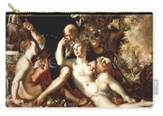 Lot And His Daughters Carry-all Pouch by Joachim Antonisz Wtewael