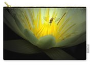 Lotus And Bee Carry-all Pouch